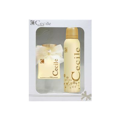 Cecile Princess Bayan Edt 100Ml+Deodorant 150Ml