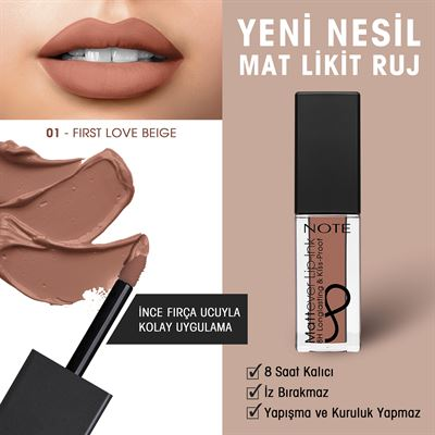 Note Mattever Ink Lipgloss 01