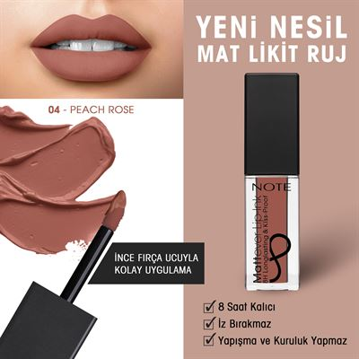 NOTE MATTEVER INK LIPGLOSS 04
